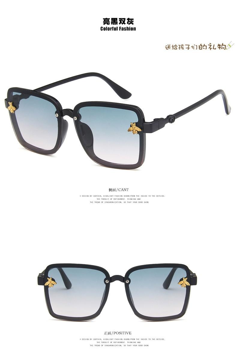 Детские солнцезащитные очки в европейском и американском стиле, модные детские солнцезащитные очки в повседневном стиле, цветные детские