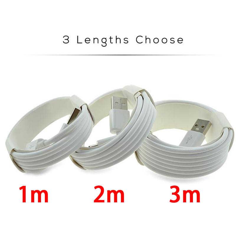 Micro USB Charger Kabel Kualitas Tinggi 1M 3FT 2M 6FT 3M 10FT Sync Kabel Data untuk Samsung s8 S9 S7edge Grosir