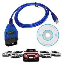 CH340 Chip USB Chẩn Đoán Cáp Máy Quét Vag Com 409Com Dụng Cụ Quét Giao Diện VAG COM 409.1 Cho VW Audi Ghế Xe Volkswagen Skoda OBD2