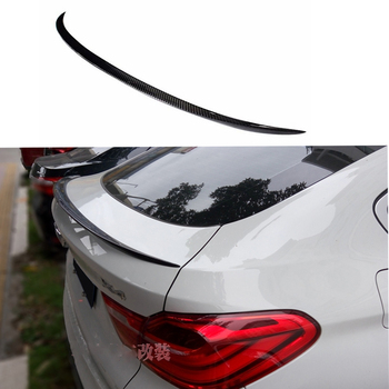 M Style X4 F26 Carbon Fiber Rear Trunk Spoiler wing for BMW F26 X4 2014 2015 xDrive20i xDrive28i