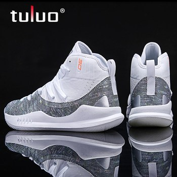 Jordans Ankle Boots Men Basketball Shoes Male Cushioning White Training Breathable Outdoor High-top Sports Shoes Mens Sneakers boussac men basketball shoes for outdoor male ankle boots anti slip sport sneakers support stability mens trainers