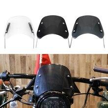 Accessori deflettore vento parabrezza moto 5 7 pollici per Suzuki Bandit Honda Hornet 600 Kawasaki Zephyr 750