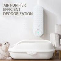 cat toilet Electric deodorizer indoor air Purifier Cat bedpan automatic Fragrance spray Deodorization cat dog feces pet Supplies