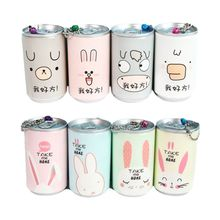 30 Sheet Car Travel Wet Wipes Tube Cartoon Animal Cans Flip Hand Cleaning Tissue