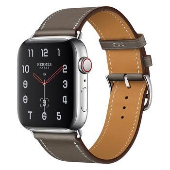Wysokiej jakości skórzana pętla do iWatch 40mm 44mm pasek sportowy pasek pojedynczo owinięty wokół ręki pasek do zegarka Apple 42mm 38mm seria 1 2 3 4 5 6 se tanie i dobre opinie dalan CN (pochodzenie) 20 cm Skórzane Nowy z metkami for apple watch se 6 5 4 3 2 1 Watchbands