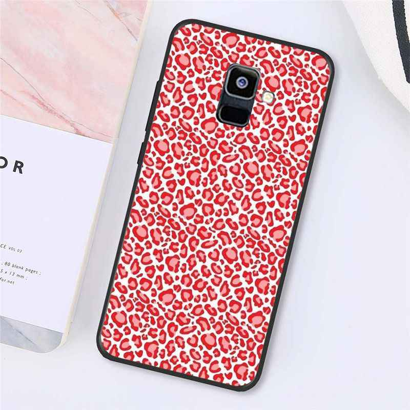 Babaite Fashion Tiger Macan Tutul Cetak Panther Phone Case untuk Samsung Galaxy A7 A50 A70 A40 A20 A30 A8 A6 A8 plus A9 2018