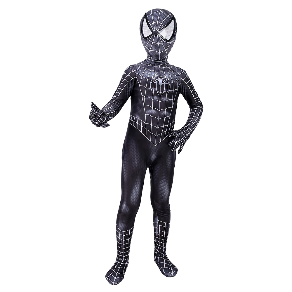 Hois Kid Lycra Spandex Zentai Halloween Cosplay Suit Kids Costume Superhero Bodysuit