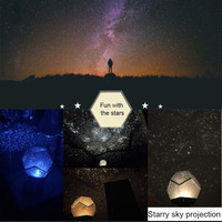 LED Projection Lamp Magic Game Starry Sky Projection Lights Kids Bedroom Stars Romantic Starry Light S7 #5