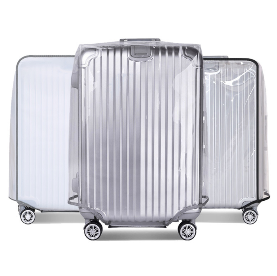Transparent Travel Suitcase Dust PVC  Cover Luggage Protective Cover For 18-30 Inch Trolley Case Dust Cover Travel Accessories