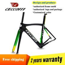 цена на DC009 good quality carbon road bike frame Toray T1000  UD PF30 tapered system road bike carbon frame  carbon frame road bike