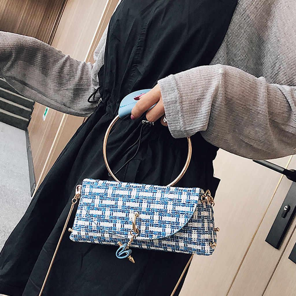 Fashion Berpayet Kopling Wanita Malam Tas Bling Hari Clutches Warna Emas Daun Logam Lock Pernikahan Dompet Wanita # a3