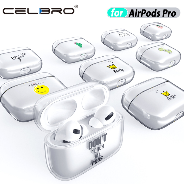Clear Funny Case for Airpods Pro 4