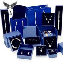 NewFlying Classic Original new necklace box jewelry Bracelet box Series suit jewelry box Crystal from Swans brand box