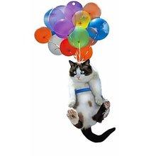 Car Hanging Ornament Cat Car Pendant 3D Effect Pendant Birthday Gift Holiday Gift Creative Car Ornament