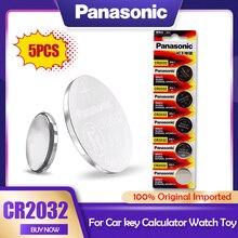 Оригинальный литиевый аккумулятор Panasonic 3 в CR2032 CR 2032 для часов, калькуляторов, игрушек, электронных весы, пультов дистанционного управления, ...