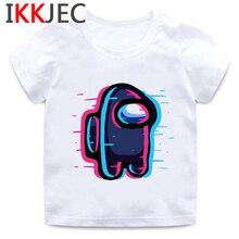 Kids Tops Among Us Short Aesthetic Anime Baby Summer Abbigliamento-Bambina-T