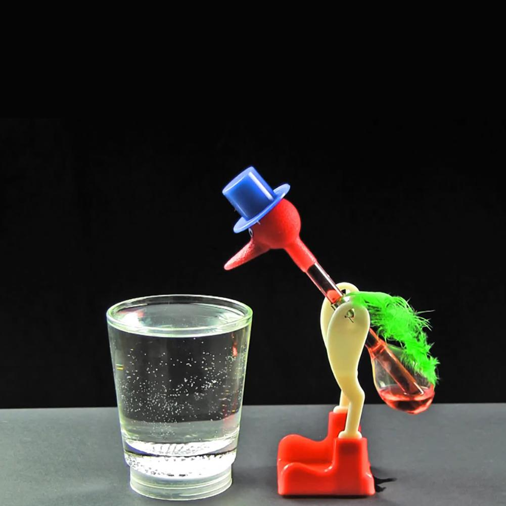 Gifts Desk Liquid Educational Non-Stop Toy Interactive Funny Kids Drinking Bird Duck Dipping Perpetual Motion Lucky