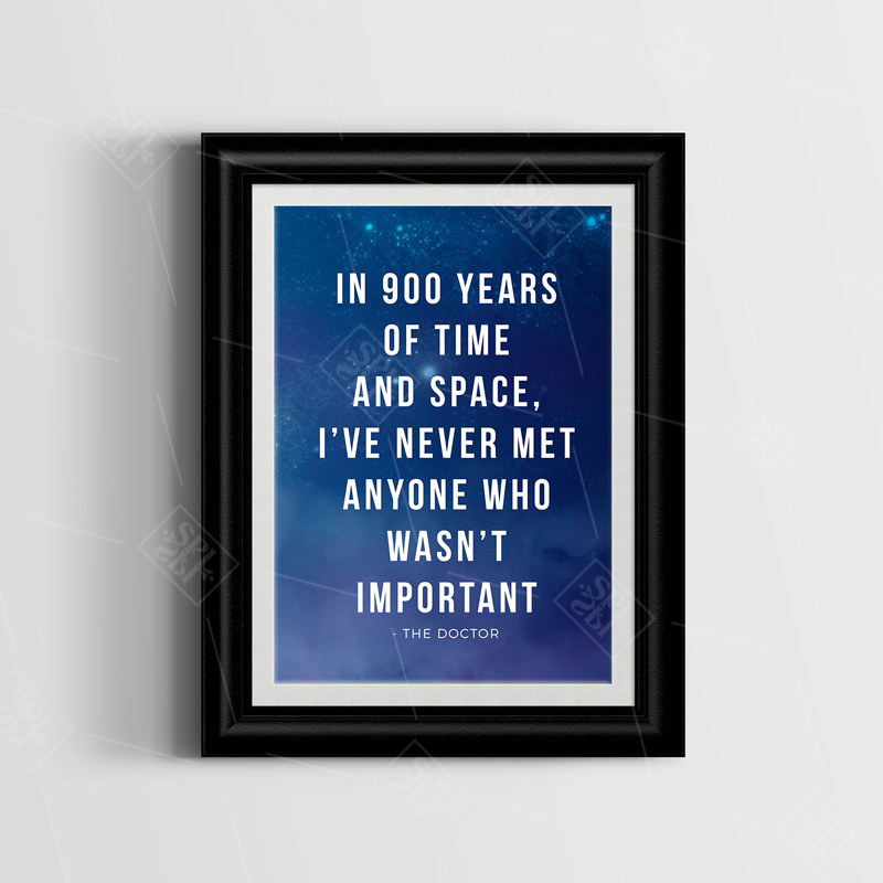 Doctor-Who-Quote-Canvas-Art-Print-Painting-Tardis-Doctor-Who-Art-Posters-and-Print-Wall-Picture (2)