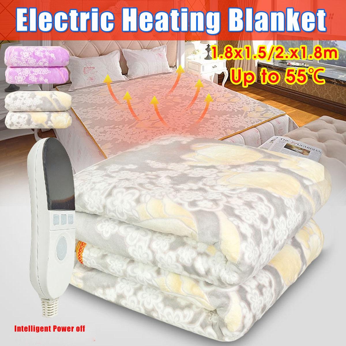 1PCS Electric Blanket Shawl Radiation-Free Household USB Charging Shawl Blanket