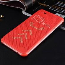Siliconen Smart Flip Cover Magnetic Case Voor HTC Een A9 EEN 9 Desire 626 626G 626W G W 628 628G HTC626 Dot View Telefoon Case Originele
