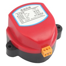 Hava damper aktüatör için vana 220V 24V 12V 110V elektrikli hava kanalı motorlu damper havalandırma boru vanası