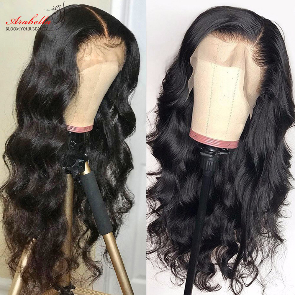 360 Lace Frontal Wig 100%  Wigs Body Wave Wig Pre Plucked  180% Density Arabella  Lace Front Wig 4