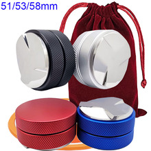 Coffee Leveler with Coaster And Bag Fits-For 53/58mm