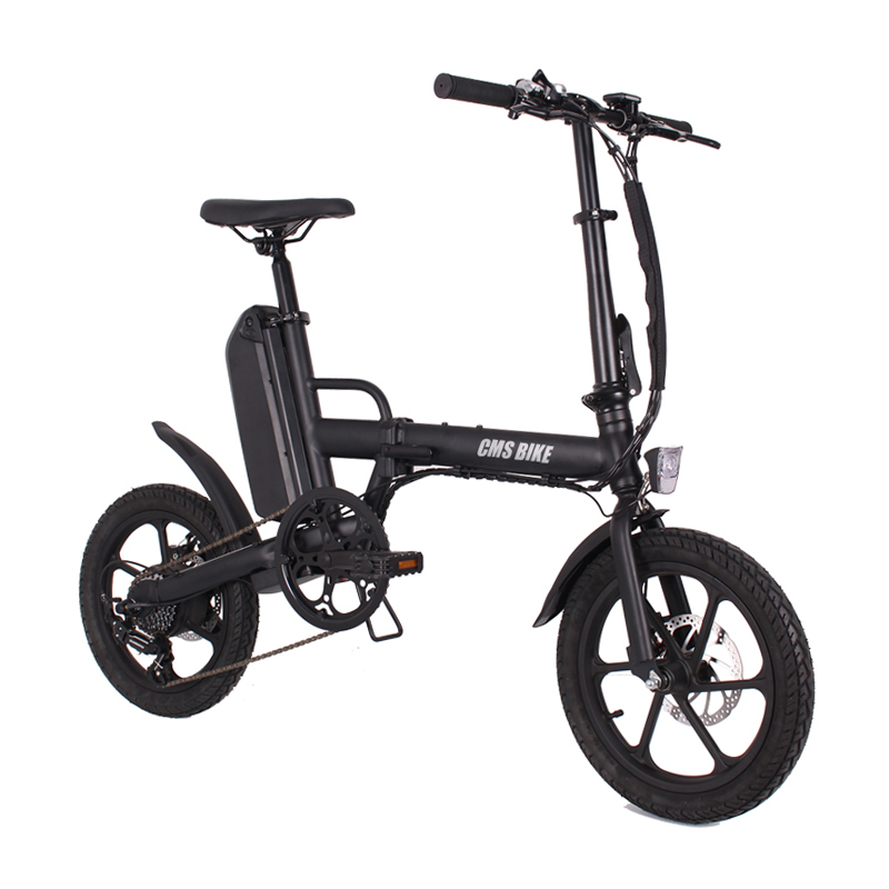 "16"" folding variable speed city folding ebike with aluminium alloy frame 4"