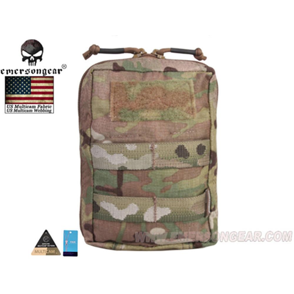 emersongear Emerson Tactical Small Utility Pouch EDC Molle Universal Tool Airsoft Hunting Waist Bag