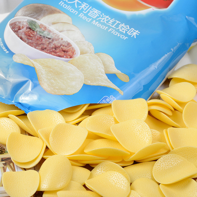 Dollhouse Miniature Lay/'s Zesty Cheese Potato Chips 1:12 Scale