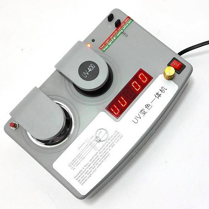 UV400 Detector Color Lens Tester Glasses UV Change Machine Photochromic Lens and UV tester Optics Lens Testing Machine