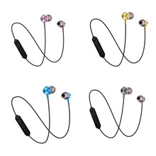 FOOVDO Sports 4.2 Bluetooth Wireless Earphone Active Noise Cancelling Headset for Phones and Music Bass Bluetooth Head Set gorsun e12 wireless headphones bluetooth earphone 12h music time active noise cancelling headset for sport