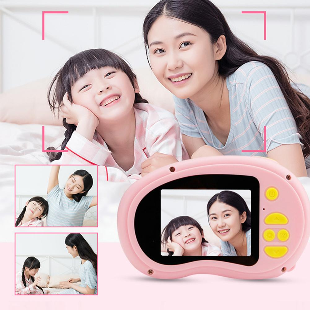 2.0 Inch Children Mini Camera Kids Educational Toys For Children Baby Birthday Gift Digital Camera 1080P Projection Video Camera