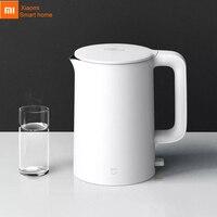 Xiaomi Mijia-TETERA eléctrica de acero inoxidable 304, hervidor de agua caliente con protección automática de apagado y ebullición rápida
