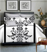 Hot Selling King Size Bedding Set Flowers Printed Bohemian Nice Decorative Duvet Cover European Style Comforter Cover Bedspreads