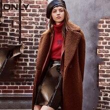 Только Осенняя зимняя куртка для женщин пальто из искусственного меха повседневное плюшевый мишка пальто куртка женская| 118322512