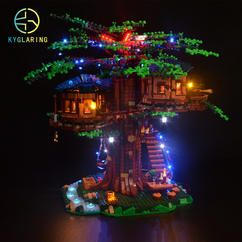 lowest price Kyglaring LED light  kit  for LEGO ideas 21318  treehouse   the block building not included