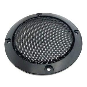 Image 3 - オーディオスピーカー保護カバー 3/4/5/6。5 インチの保護メッシュネットグリル diy 車のスピーカーカバー
