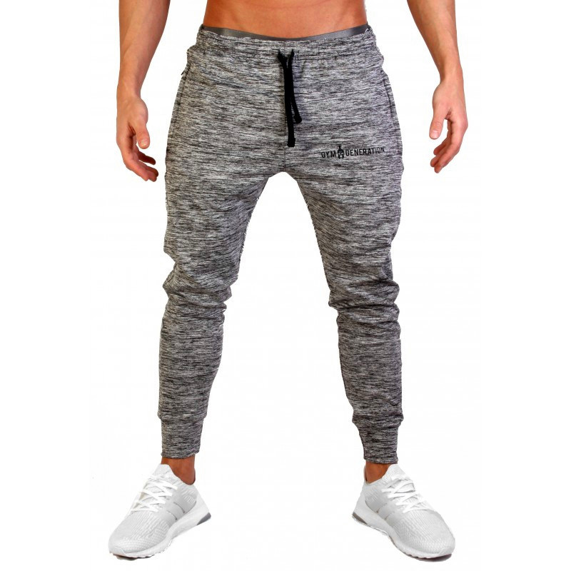 2019 New Style Mens Jogger Sweatpants Man Gyms Workout Fitness Cotton Trousers Male Casual Fashion Skinny Track Pants