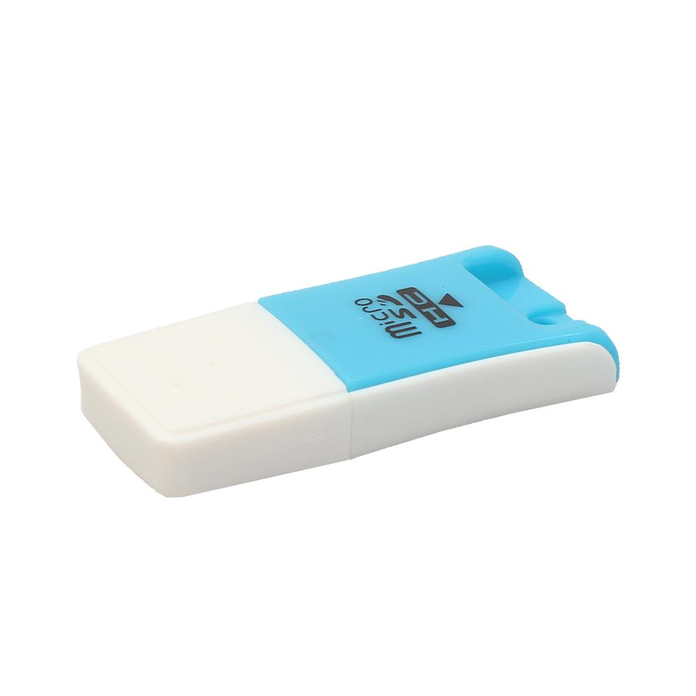 High Quality Mini USB 2.0 Card Reader For Micro S D Card TF Card Adapter Plug And Play Colourful Choose From For  PC