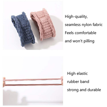10PCS Women Girls Simple Basic Elastic Hair Bands Ties Scrunchie Ponytail Holder Rubber Bands Fashion Headband Hair Accessories 6