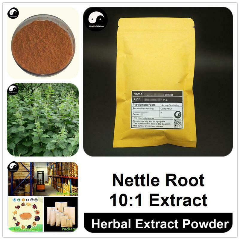 Nettle Root Extract Powder 10:1, Urtica Cannabina P.E., Qian Ma Gen