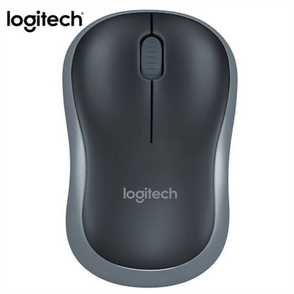 Logitech M186 2.4Ghz Wireless Mouses 1000DPI Optical Mice For Computer 3 Buttons Ergonomic Mouse
