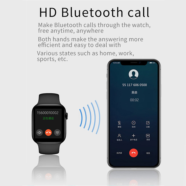 2021 Smart Watch  Sport Smartwatch Men Women Sleep Body Temperature Heart Rate Blood Pressure Monitor Watches For IOS Android 2