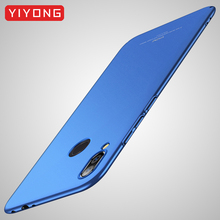 Meizu Note 9 Case YIYONG Slim Frosted Cover For Meizu X8 X 8 Case M9 Note9 Global PC Cover For Meizu M8 Note 8 Note8 Phone Cases cheap Fitted Case Ultra thin Full Body PC Cover Matte Plain Anti-knock YIYONG 360 Full Protection Series Top quality PC Support