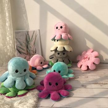 Заполнения Octopu подушки мягкие игрушки куклы Моделирование Octopu плюшевые куклы Симпатичные украшения для дома аксессуары Pulpitos Робокар Поли для детей Подарки|Мягкие игрушки животные|   | АлиЭкспресс