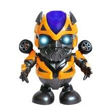Электронные игрушки Marvel со светодиодный светильник, музыкальные танцующие супергерои, Халк, Человек-паук, куклы, робот, Детский Рождественс...
