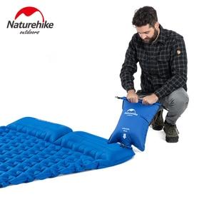 Image 3 - Natureigh tapis de Camping dextérieur ultraléger, Portable et avec oreiller, gonflable Double, sac de couchage résistant à lhumidité