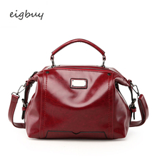 Female Women Handbags Hot Big Nylon Solid None Zipper Leather Ladies Hand Bags Purses And Red Fashion Bag Sac A Main