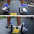 Motor rueda alternativa pista patineta 2 ruedas patines adultos PU gran rueda Scooters auto equilibrio rodillo estaca - 6